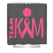 Team Kim Shower Curtain