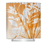 Team Orange Shower Curtain
