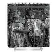 Team Support Shower Curtain
