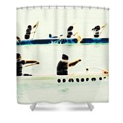 Teamwork Nbr2 Shower Curtain