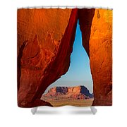 Teardrop Arch Shower Curtain