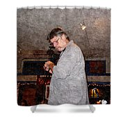 Ted Finn Shower Curtain