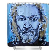 Ted Neeley Shower Curtain