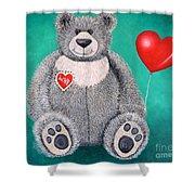 Teddy Bear Eli Shower Curtain