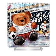 Teddy Bear Ince Shower Curtain