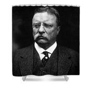 Teddy Roosevelt Shower Curtain