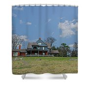 Teddy Roosevelts House - Sagamore Hill Shower Curtain
