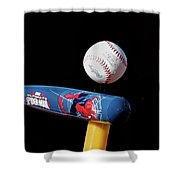 Tee Ball Shower Curtain