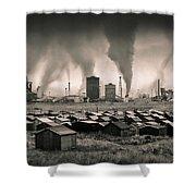 Teesside Steelworks 1 Shower Curtain