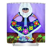 Tehuana Shower Curtain