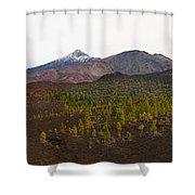 Teide Nr 12 Shower Curtain
