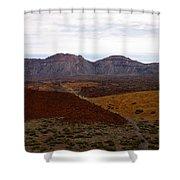 Teide Nr 2 Shower Curtain