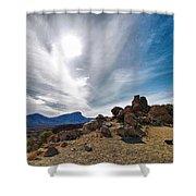 Teide Nr 9 Shower Curtain