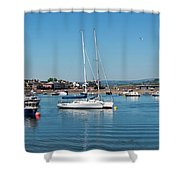 Teignmouth Harbour Shower Curtain