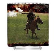 Tejano Cavalry Shower Curtain