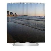 Tel Aviv Beach Shower Curtain