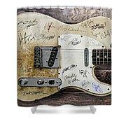 Telecaster Guitar Fantasy Shower Curtain