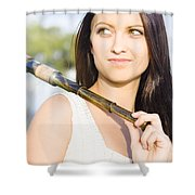 Telescope Shower Curtain