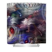 Televisia Shower Curtain