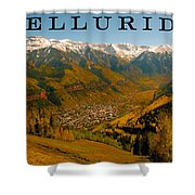 Telluride Colorado Shower Curtain by David Lee Thompson
