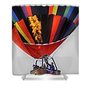 Temecula, Ca - Flames Over Wine Country Shower Curtain