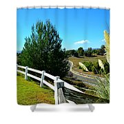 Temecula Scenery Shower Curtain