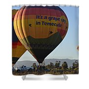 Temecula Wine Country Shower Curtain