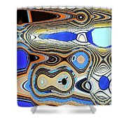 Tempe Town Lake Building Shower Curtain