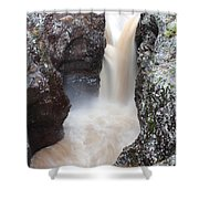 Temperance River State Park Four Shower Curtain
