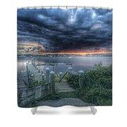 Tempest Knob 9-30-17 Shower Curtain