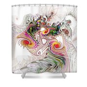 Tempest Shower Curtain by NirvanaBlues