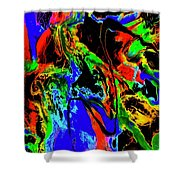 Tempest Of The Storm Shower Curtain