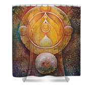 Temple #1 Shower Curtain