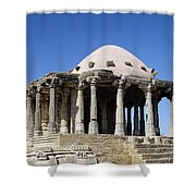 Temple At Fort Kumbhalgarh Shower Curtain