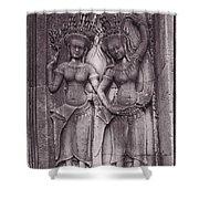 Temple Dancers Shower Curtain