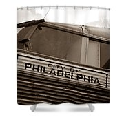 Temple Of Doom Trimotor Shower Curtain