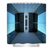 Temple Of Light Shower Curtain