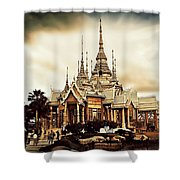 Temple Of Non Goom Shower Curtain