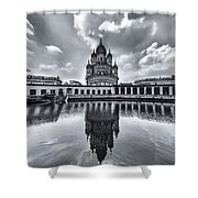Temple Of Reflction Shower Curtain