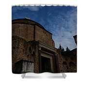 Temple Of Romulus Shower Curtain