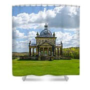 Temple Of The Four Winds Shower Curtain