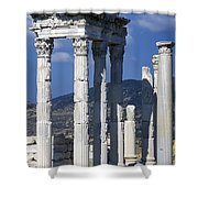 Temple Of Trajan View 1 Shower Curtain