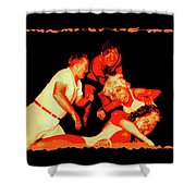 Temple Of Violence Shower Curtain