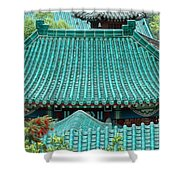 Temple Roofs Shower Curtain