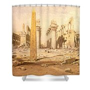 Temple Ruins  Shower Curtain