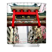 Temple Street 1 Shower Curtain