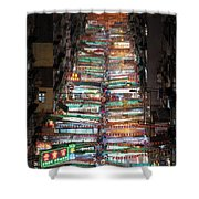 Temple Street Market In Hong Kong Shower Curtain