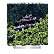Temples Of Tam Coc Vietnam  Shower Curtain
