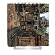 Temples Siem Reap Cambodia Worship  Shower Curtain