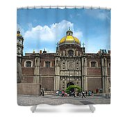 Templo Expiatorio A Cristo Rey - Mexico City Shower Curtain